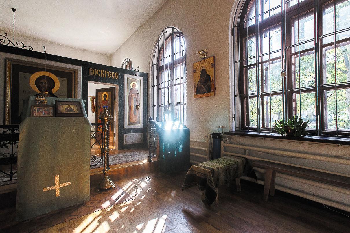 Внутреннее убранство церкви Святого Иосифа Волоцкого. Фото: Александр Бурый